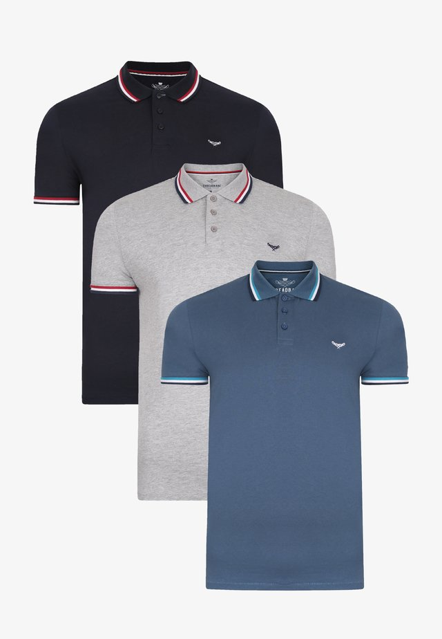 3 PACK - Poloshirt - multi