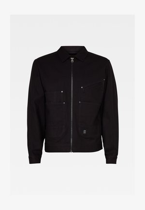 TRUCKER - Light jacket - dk black