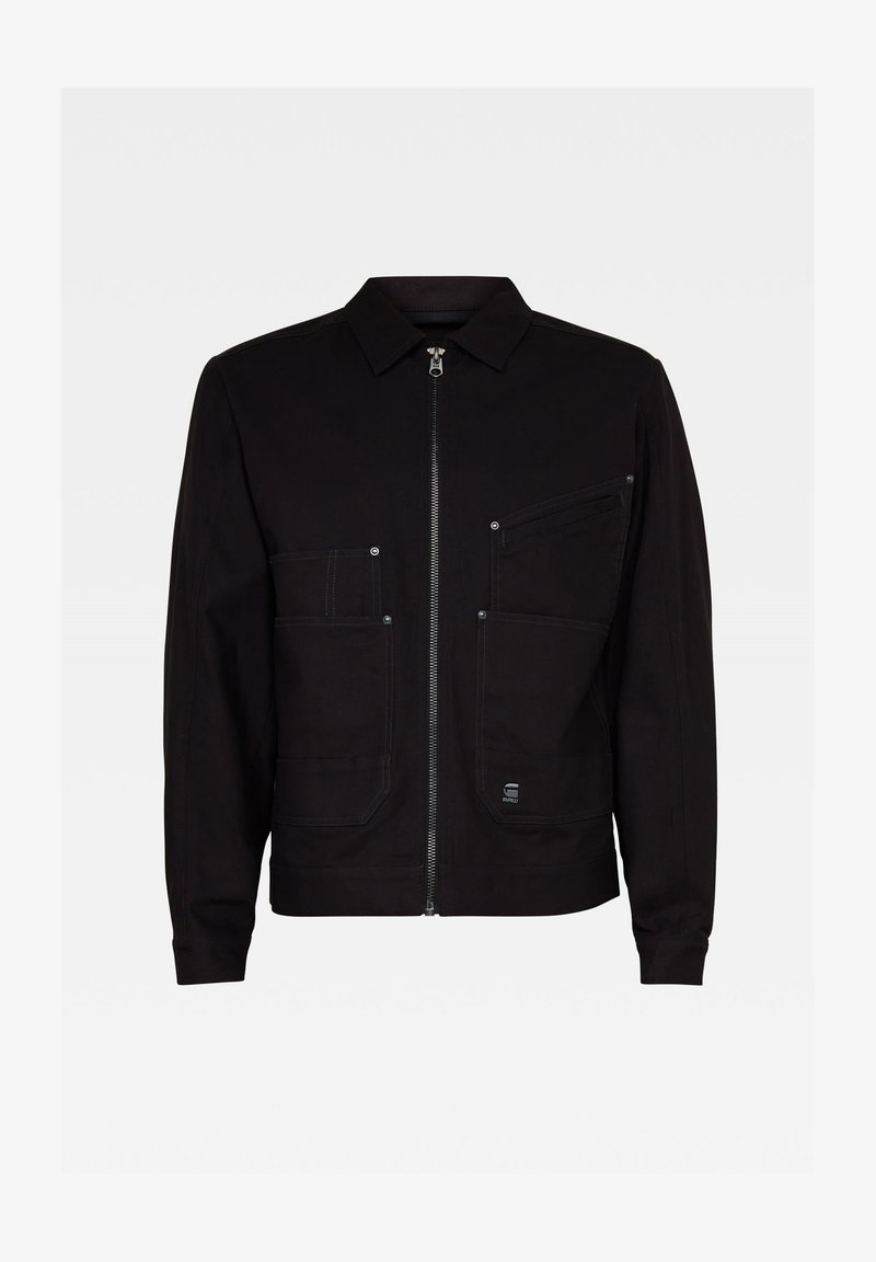 G-Star - TRUCKER - Light jacket - dk black