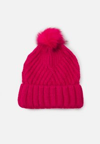 Marks & Spencer London - GEO BOBBLE HAT - Beanie - hot pink - 0