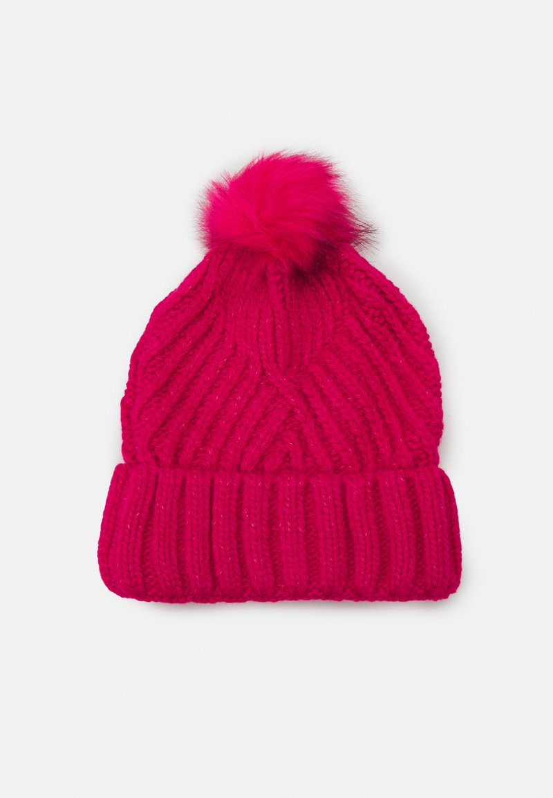 Marks & Spencer London - GEO BOBBLE HAT - Beanie - hot pink