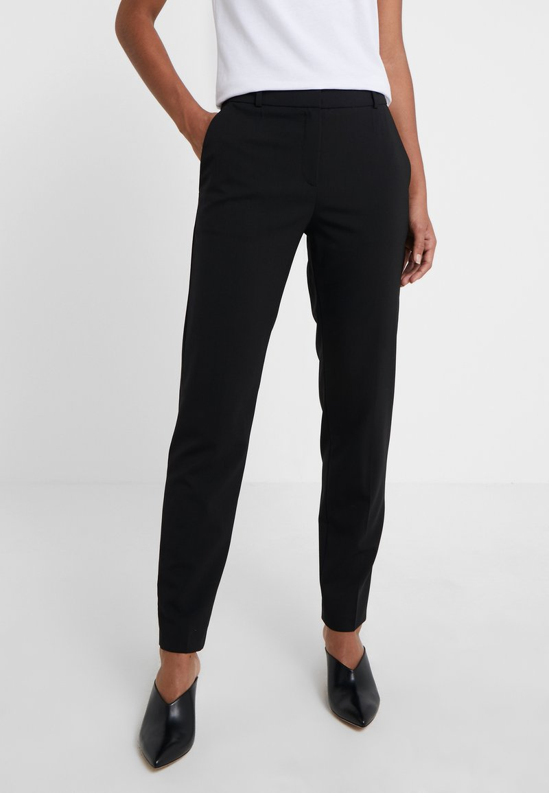 HUGO - Trousers - black