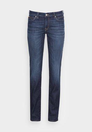 STRAIGHT - Jeans straight leg - blue dark wash