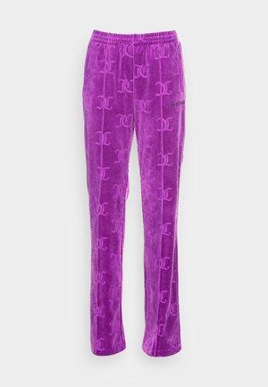 TINA MONO TRACK PANTS - Tracksuit bottoms - sparkling grape