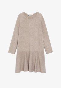 Mango - CECI - Pletené šaty - zand - 0
