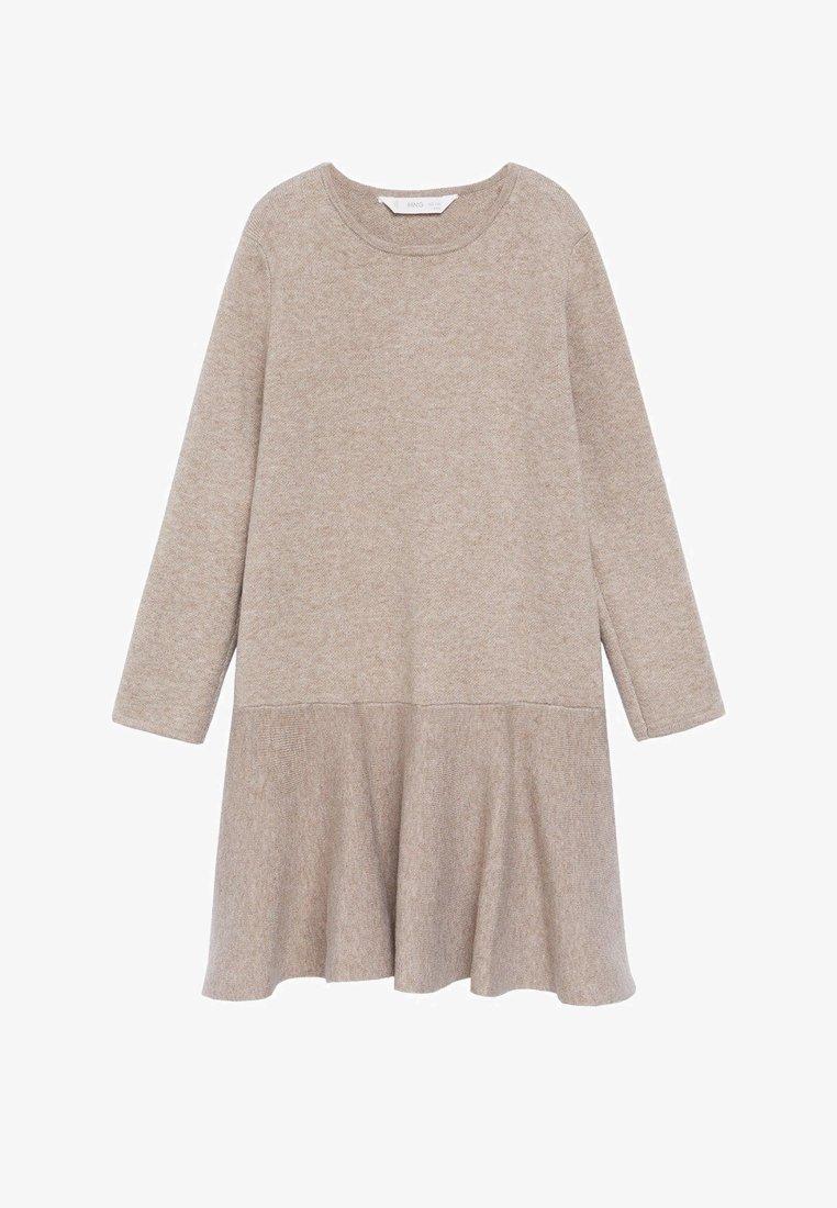 Mango - CECI - Pletené šaty - zand