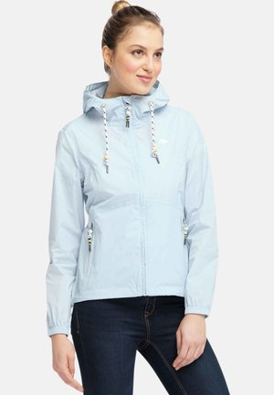 Impermeable - pastel blue