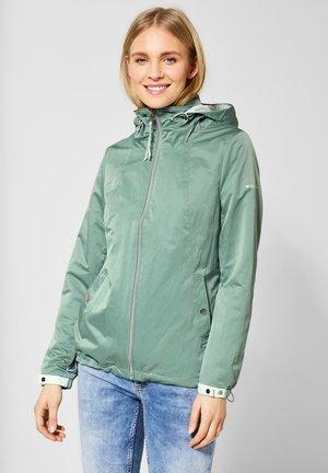 MIT KONTRASTEN - Summer jacket - green