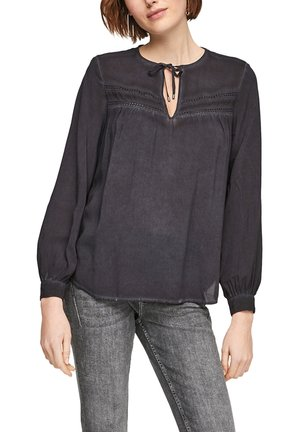 Blouse - faded black