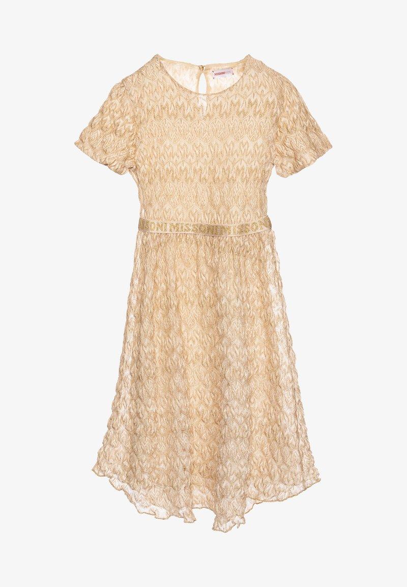 Missoni Kids - DRESS - Koktejlové šaty/ šaty na párty - gold