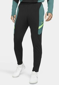 Nike Performance - DRY ACADEMY SUIT - Survêtement - black/black/green strike/green strike - 3