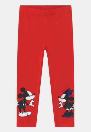 DISNEY MINNIE MOUSE & MICKEY MOUSE - Leggings - Trousers - high risk red