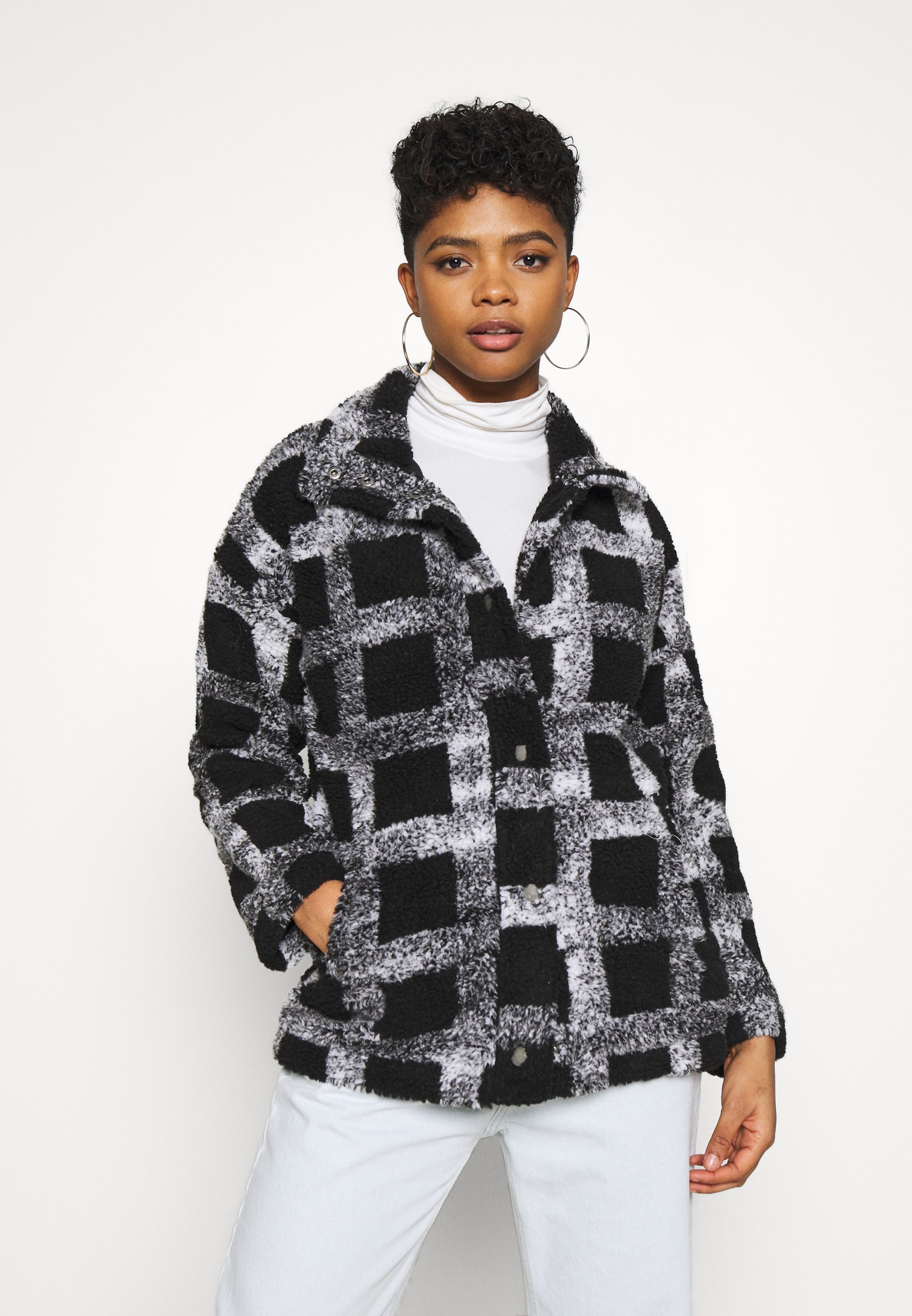 Women SET YOUR SIGHTS - Winter jacket - anthracite please