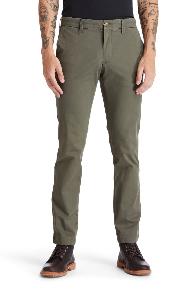 Timberland - Spodnie materiałowe - grape leaf