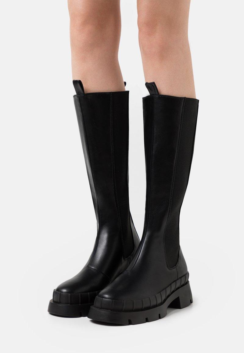 RAID - TINKER - Platform boots - black