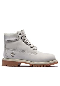 Timberland - Lace-up ankle boots - light grey nubuck - 4