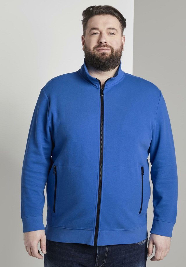 veste en sweat zippée - victory blue