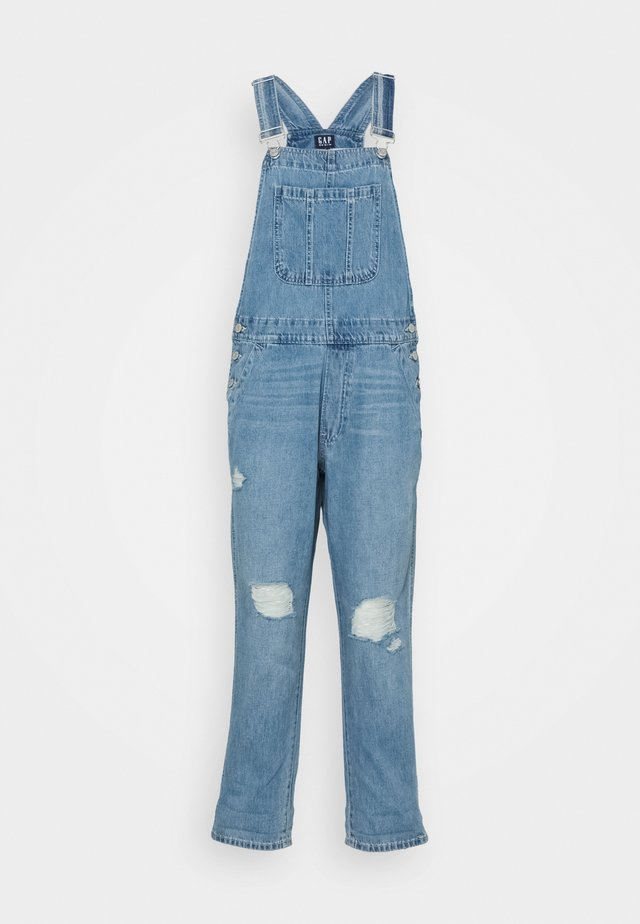 SLOUCHY OVERALL  - Tuinbroek - light-blue denim