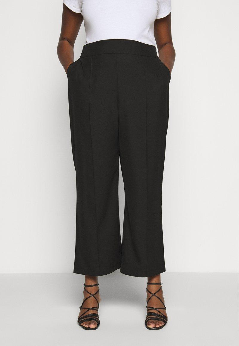 JUNAROSE - by VERO MODA - JRRIO PANTS - Trousers - black