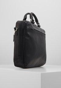 Jost - MALMÖ BUSINESS BAG - Briefcase - black - 3