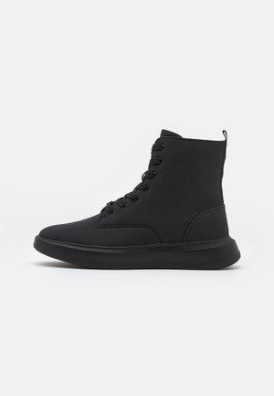 UNISEX - Šněrovací kotníkové boty - black
