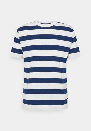 SHORT SLEEVE BLOCK STRIPE - Print T-shirt - multi/estate blue