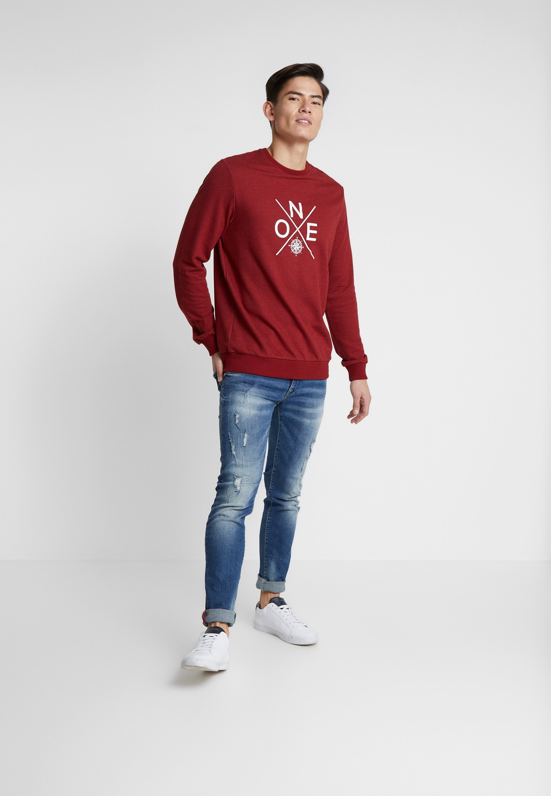 Men SEAHAM REPAIR - Slim fit jeans