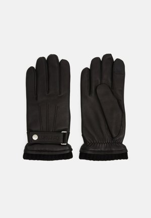 GLOVES SNAP - Gloves - black