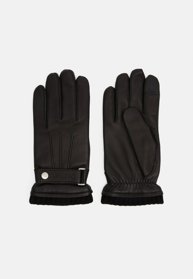 GLOVES SNAP - Guantes - black