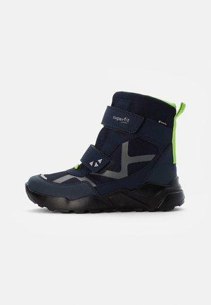 ROCKET - Snowboots  - blau/grün
