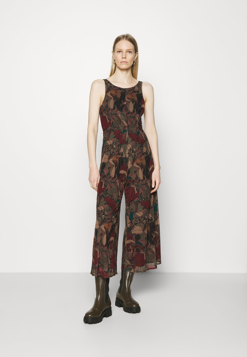 Desigual - PANT_SOHO - Overall / Jumpsuit - green