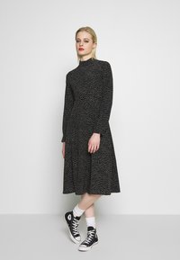 Monki - HELIE DRESS - Kjole - black - 0
