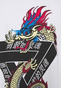 Brave Soul - DRACO - T-shirt con stampa - white - 6