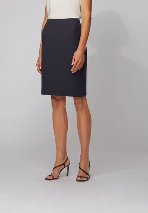 VRILANA - Pencil skirt - open blue