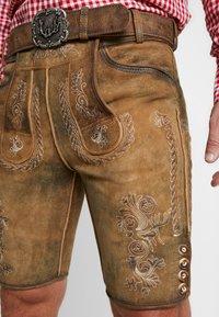 Stockerpoint - THOMAS - Kožené kalhoty - korn - 5