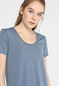 Cotton On Body - GYM - Jednoduché triko - steel blue - 3