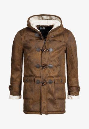 Winter coat - brown sugar