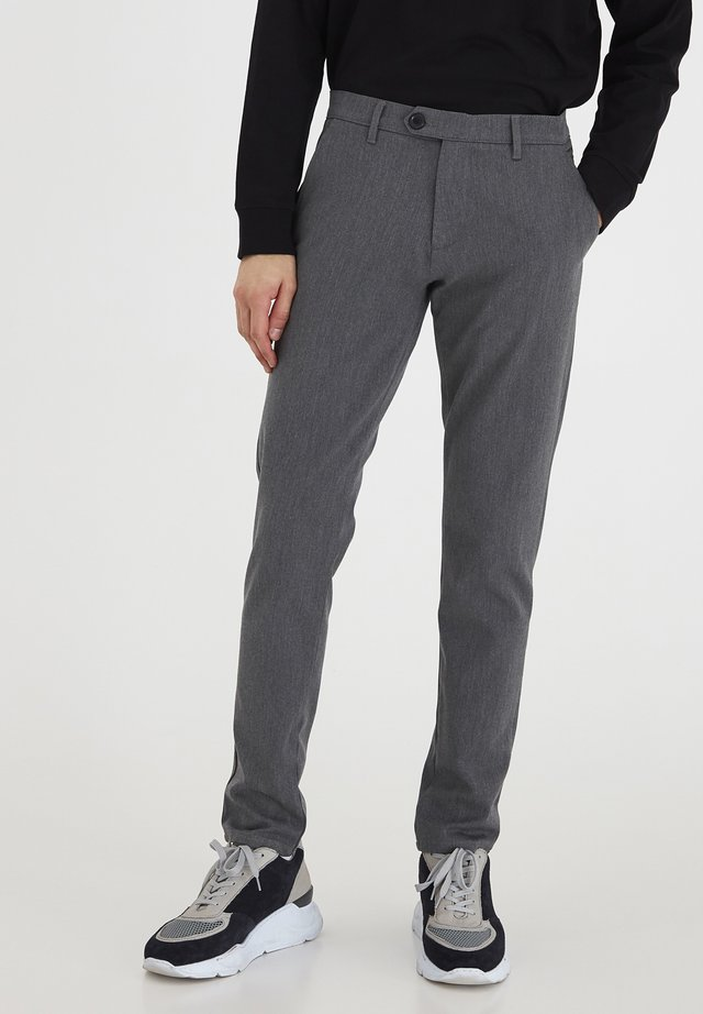 7198608, PANTS - TOFRED - Trousers - med grey m