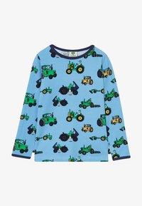 Småfolk - OLD TRACTOR - Langærmede T-shirts - sky blue - 2