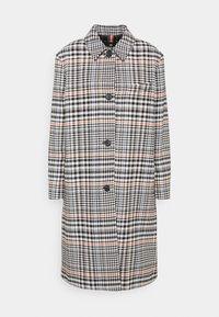 PS Paul Smith - WOMENS COAT - Classic coat - black/blue/orange - 0