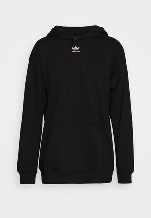 TREFOIL ESSENTIALS HOODED - Luvtröja - black