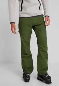 Wearcolour - TILT PANT - Skibukser - olive - 0
