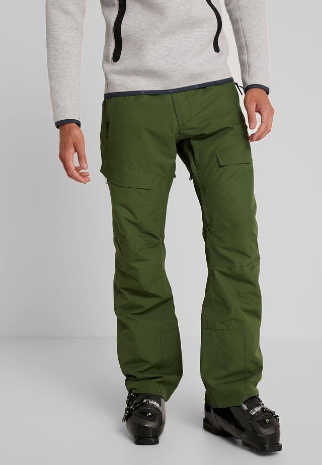 TILT PANT - Pantalón de nieve - olive
