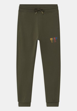 Tracksuit bottoms - olive night