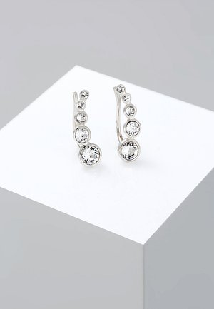 EARCUFF - Earrings - silver-coloured