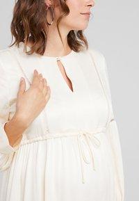 IVY & OAK Maternity - TUNIC DRESS - Vestito estivo - porcelain white - 4