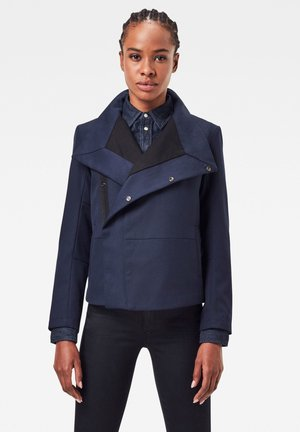 SLIM - Light jacket - naval blue