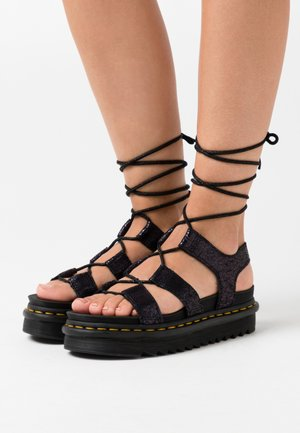 NARTILLA II - Platform sandals - black