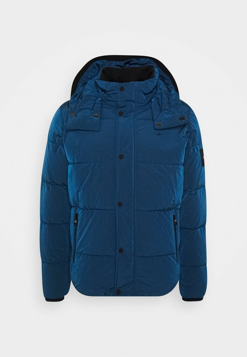 Calvin Klein - CRINKLE  - Winter jacket - blue