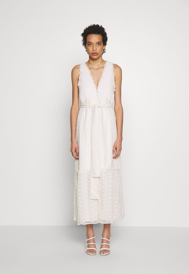 SEPARATION MIDI DRESS - Sukienka letnia - offwhite